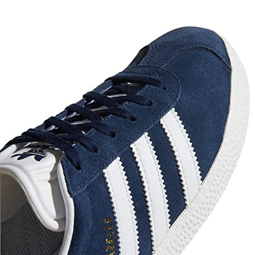 Chaussures Femme Baskets Rose Noir Navy Adidas White Low Sneaker ftwr Gazelle top Bleu 5q14xR