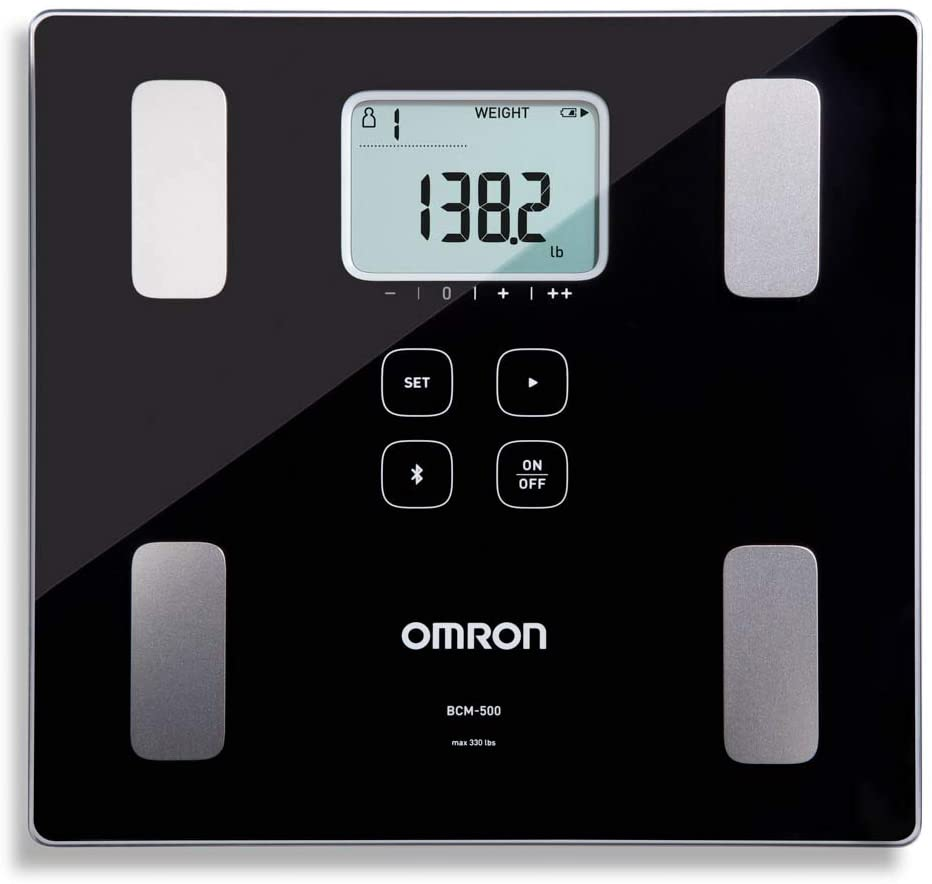 Omron Body Composition Monitor and Scale elderly gadget