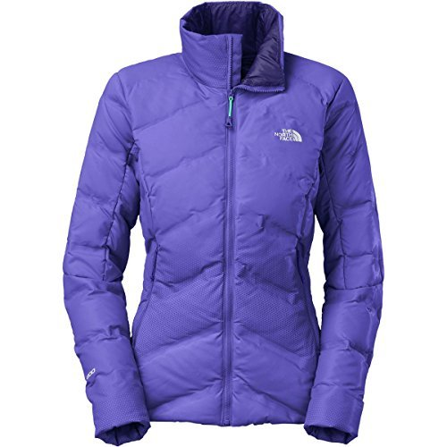 The North Face Fuseform Dot Matrix Down Jacket - Women's Starry Purple Tri Matrix Medium Down Swiss Dot
