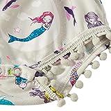 Leapparel Unisex Newborn Infant Cool Mermaid Ruffle