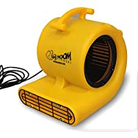 Zoom Centrifugal Floor Dryer, Air Mover Commercial Quality Carpet Blower (1/2 Horsepower)
