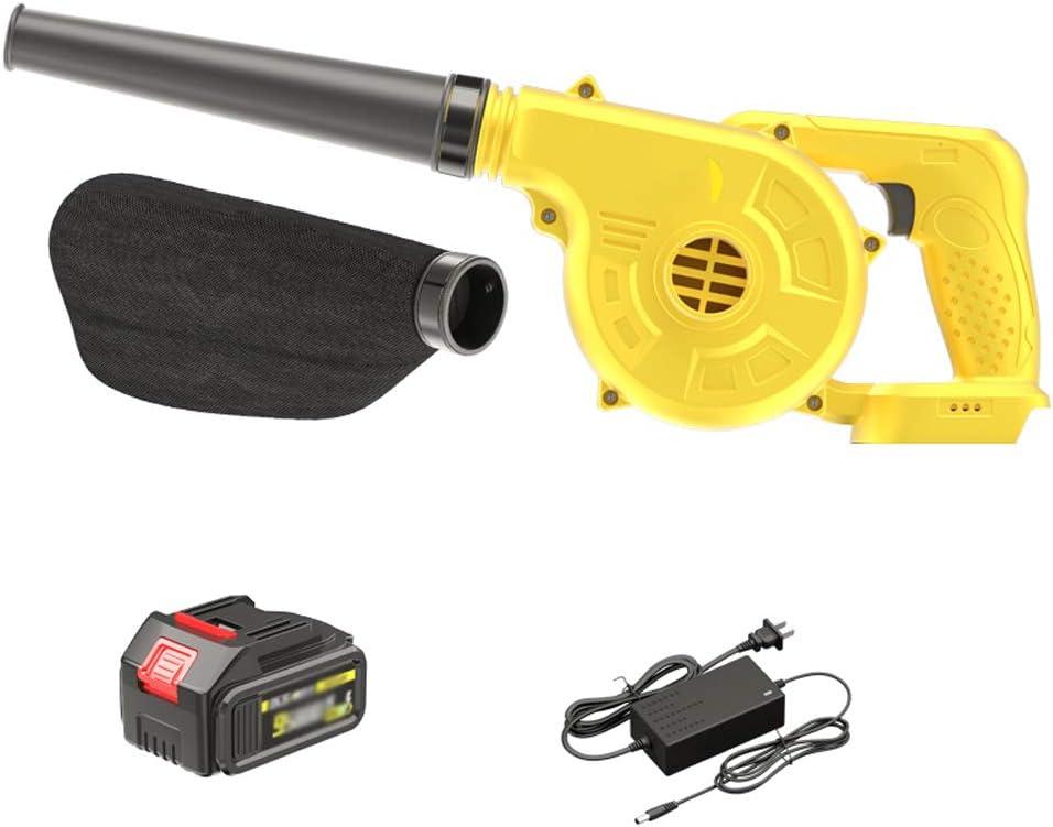 WXKER Soplador inalámbrico, aspirador soplador eléctrico, incluye una batería/cargador de 21 V, apto para familias de coche y despolvo industrial: Amazon.es: Hogar