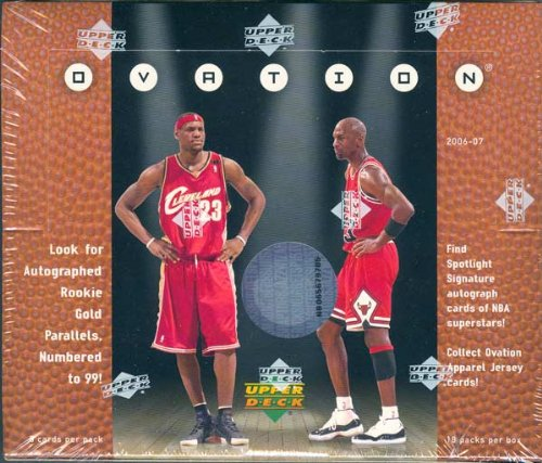 (2006/07 Upper Deck Ovation Basketball Hobby Box)