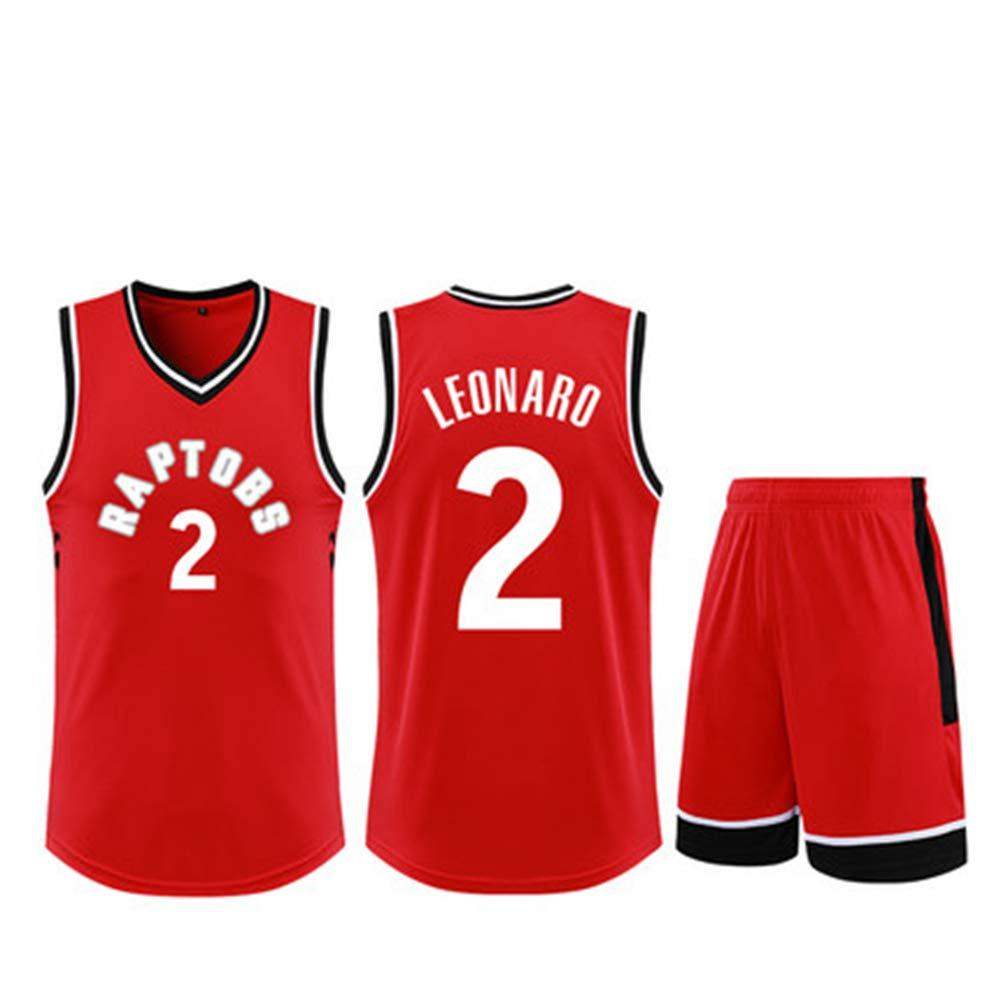 new concept fe155 e7f89 YDYL-LI Toronto Raptors # 2 Kawhi Leonard Jersey Basketball ...