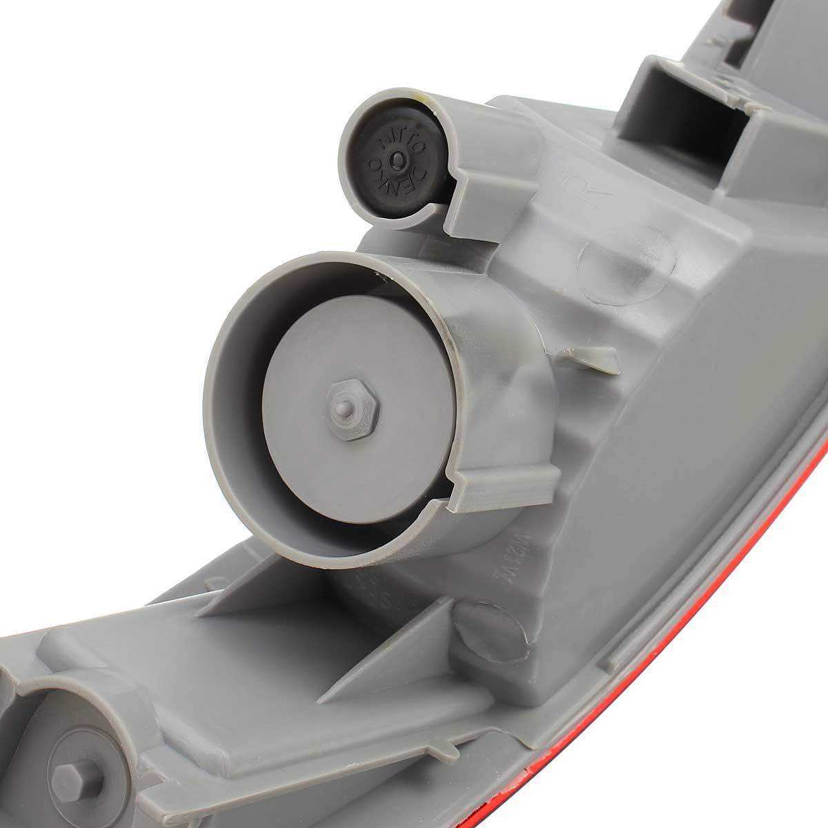 REFURBISHHOUSE Parachoques Trasero de Coche Reflector Halogeno Trasero para Mitsubishi//Outlander Ex2007-2012 Sl693-Rh Sl693-Lh