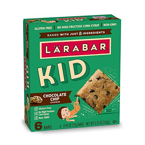 LARABAR Chocolate Chip Cookie, 5.76 oz, 6 Count