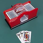 Poker Card shuffler,Hand Cranked Card Shuffler Card shuffler 2 Deck Card shuffler Machine Manual Card shuffler