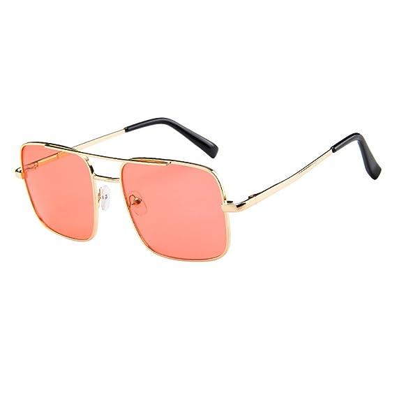 asdkfh Gafas de Sol de Colores Gafas de Sol Hombre Cuadradas ...