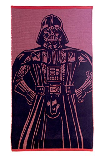 "Star Wars Darth Vader 100% Cotton Terry Jacquard 34"" x 64..."