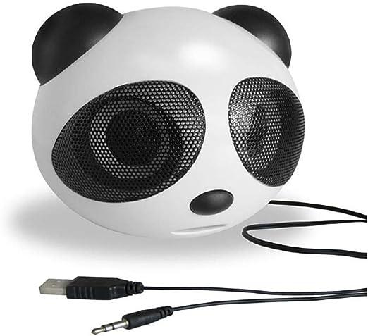Xiangpian183 - Altavoz pequeño con diseño de Oso Panda para ...
