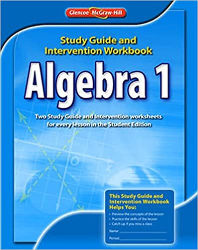 Printables Glencoe Mcgraw Hill Algebra 1 Worksheet Answers algebra 1 study guide intervention workbook merrill 2 1st edition by mcgraw hill