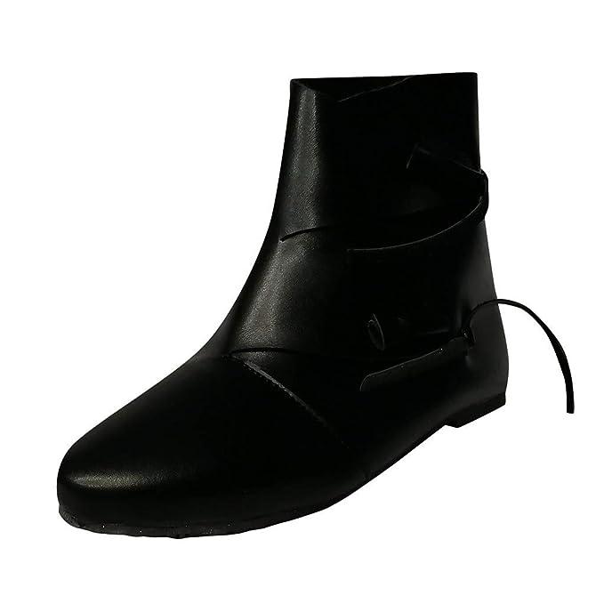 Amazon.com: Gibobby - Botines de tobillo para mujer, tacón ...