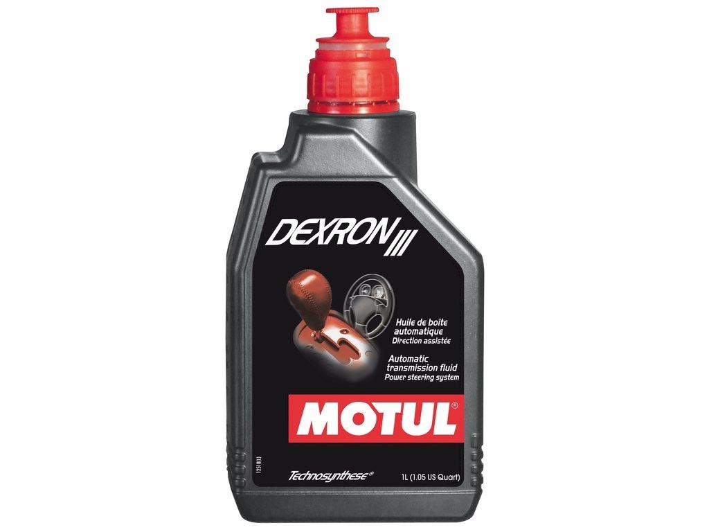 MOTUL DEXRON III Huile de rechange pour direction assisté e circuits hydrauliques 1L 105776
