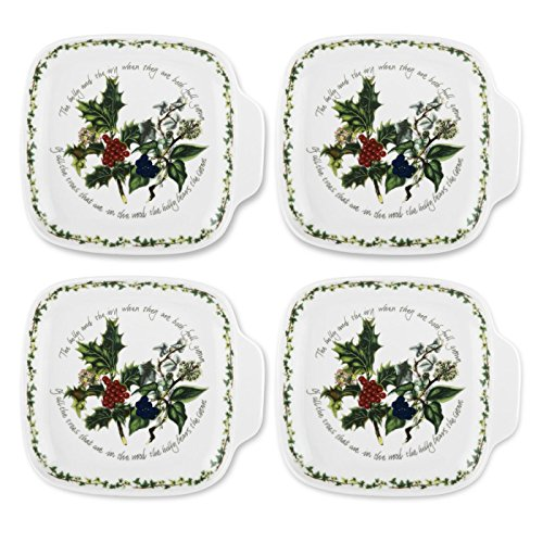 Portmeirion The Holly & Ivy Canapé Dishes (Set Of 4) ()