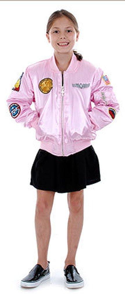 Pink Bomber Kids Aviation Jackets Planejunkie Girls MA-1 Flight Jacket
