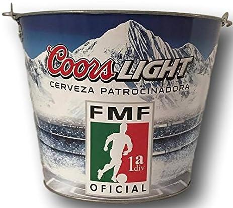 Coors Light Cerveza Patrocinadora Beer Bucket