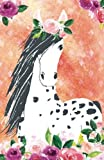 Journal Notebook For Horse Lovers Appaloosa In Flowers: Blank Journal To Write In, Unlined For Journaling, Writing, Planning and Doodling, For Women, ... Size (Journal Notebook Plain) (Volume 55)