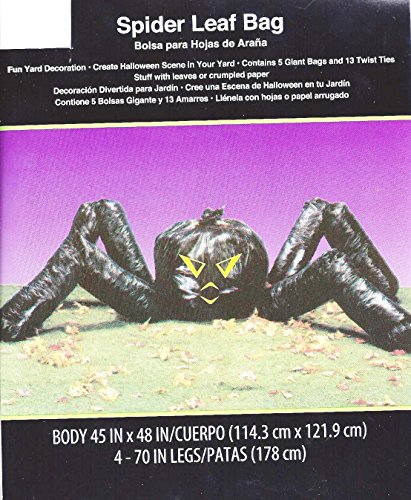 Spider Lawn Bag Halloween Decoration