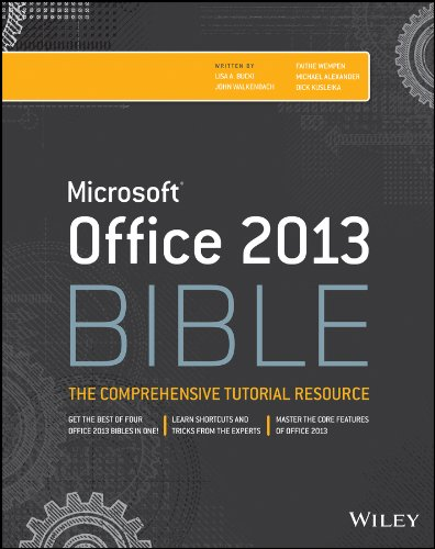 Download Office 2013 Bible: The Comprehensive Tutorial Resource Pdf