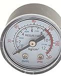 0-180psi 0-12 kg/cm2 1/8BSP Thread Dia Dial Air