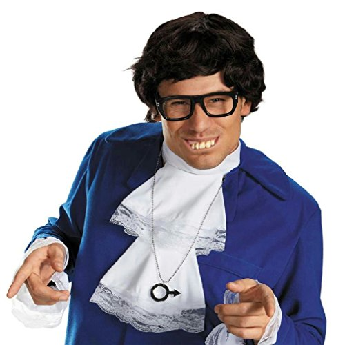 8eighteen Austin Powers Deluxe Accessory Costume Kit (Austin Powers Deluxe Accessories Kit)