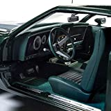 1973 Ford Mustang Mach 1 Dark Green with Silver