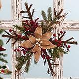 Burlap Holiday Snowflake Wall/Door Decor