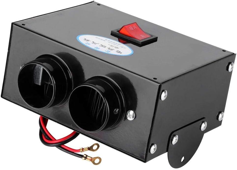 Calentador de coche CHICIRIS - 500 W, totalmente automático, de bajo ruido, calentador de coche portátil, purifica el aire, calefacción, descongelador, desempañador(12V)