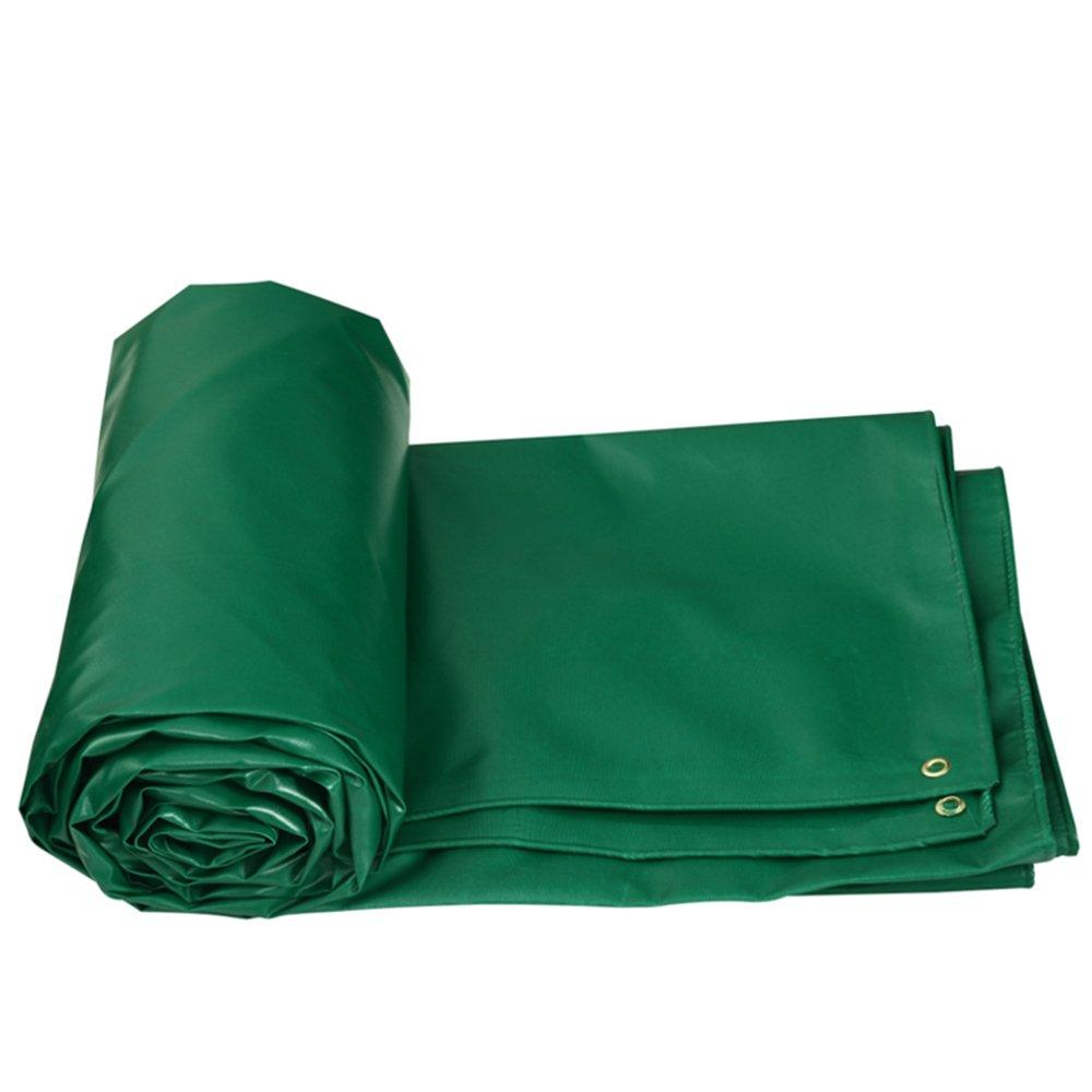 YNN ターポリン日焼け止め布防水保温日焼け止め屋外キャンバス厚い雨布布地防水布防水布 防水シート (色 : Green, サイズ さいず : 6 * 4m (actual 5.8 * 3.85m)) B07FNPMWRX 6*4m (actual 5.8*3.85m)|Green Green 6*4m (actual 5.8*3.85m)