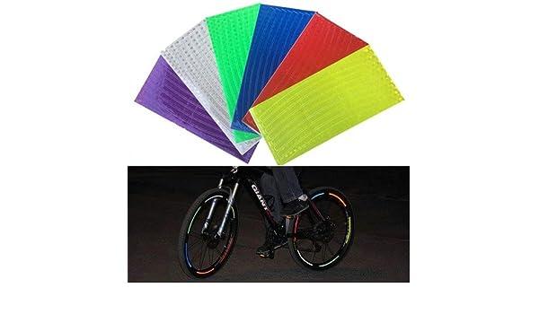 Pegatina reflectante para bicicleta montañera de diferentes ...