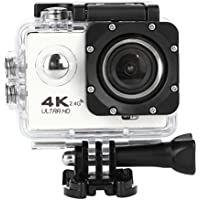 Sport Camera, TONSEE Waterproof 4K F60R Wifi HD 1080P Ultra Sports Action Camera DVR Cam Camcorder (White)