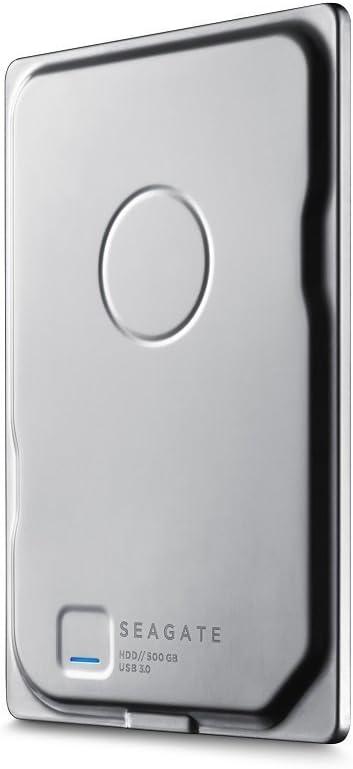 【Amazon.co.jp限定】 Seagate HDD ポータブルハードディスク Seagate Seven 500GB  アルミ筐体 7mm厚 1TGAP1