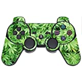Go Green PS3 Dual Shock wireless controller Vinyl Decal Sticker Skin by Compass Litho