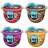 joyböl Smoothie Bowls, Flavor Variety Pack, Strawberry Almond Quinoa Crunch, Chocolate Hazelnut, Superberries and Açai, Mango Coconut Chia, Easy Breakfast, Non-GMO, 4 Count
