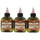 Z-COMFORT New premium natural hair care vitamin e oil 3 pc, 8 Grams