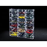 Interlocking 6 Cars Collectible Display Show case