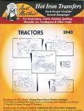 Farm Tractors Aunt Martha's Hot Iron Embroidery Transfer