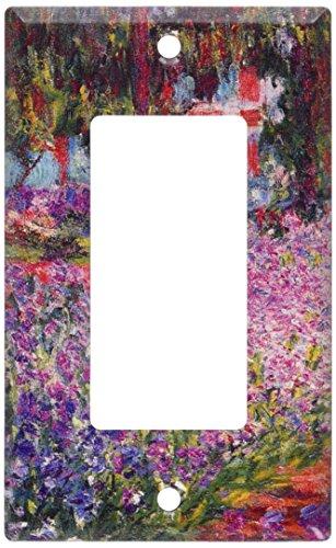 Art Plates - Monet: The Artist's Garden Switch Plate - Single -