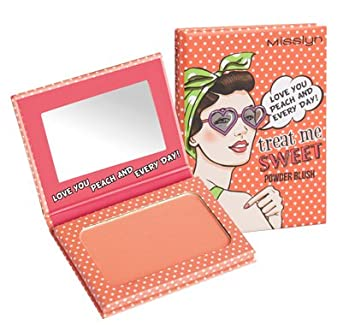Misslyn Treat Me Sweet Powder Blush Nr.08 BE MY FLAMINGO FOREVER!, 6 g M4980.08