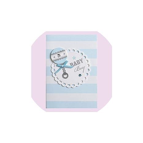 Amazon.com: Tarjeta de felicitación para bebé, tarjetas de ...