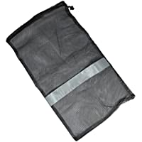 "Scuba Choice Scuba Diving Dive Drawstring Mesh Bag with Gray Bar for Wetsuit or Gear, 31"" x 18"""