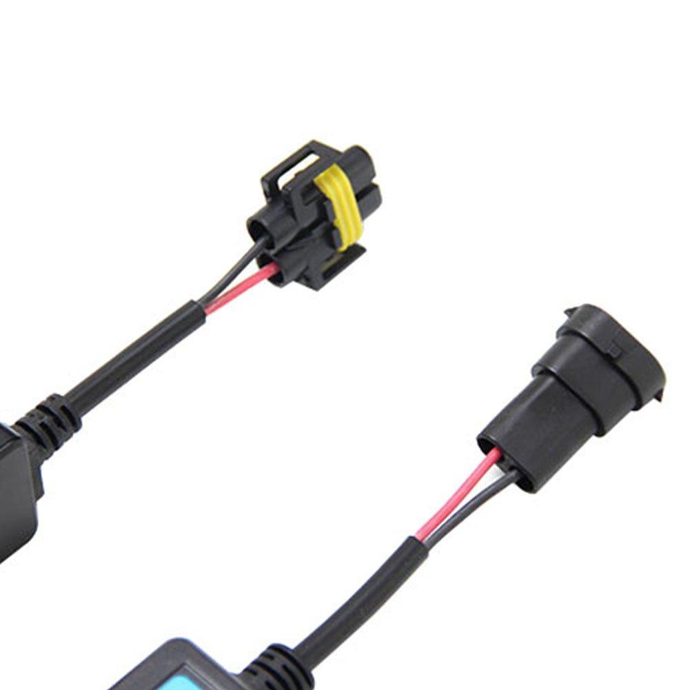 TABEN H4/HB2/9003/CAN-BUS EMC avviso di errore decoder Canceller Capacitor anti-flicker resistore cablaggio per sistemi Hi//lo Beam LED faro