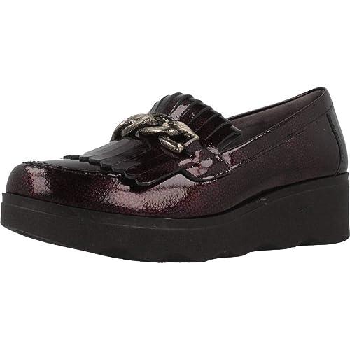 Mocasines para Mujer, Color Rojo, Marca PITILLOS, Modelo Mocasines para Mujer PITILLOS 5344P Rojo: Amazon.es: Zapatos y complementos