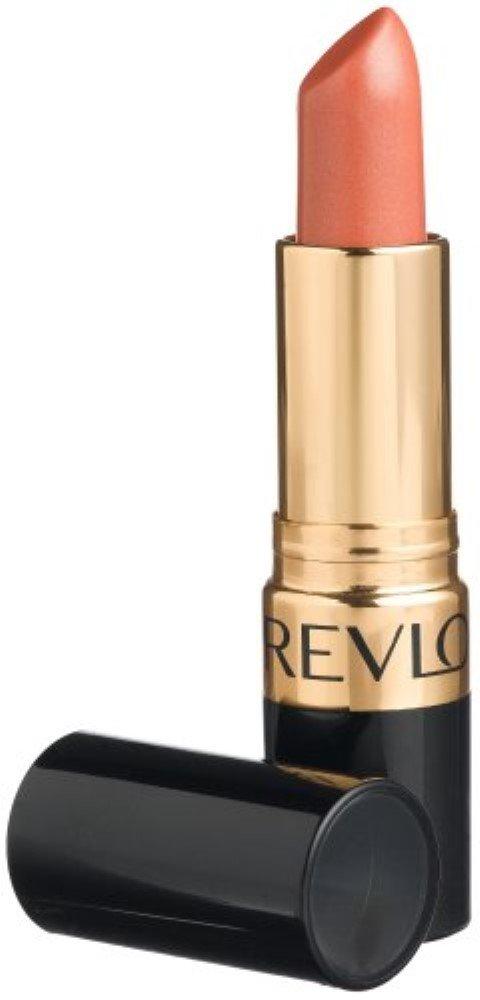 Revlon Super Lustrous Lipstick Pearl, [628] Peach Me 0.15 oz (Pack of 5)