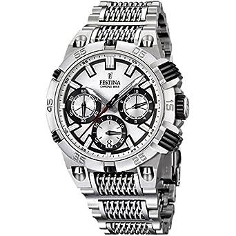 5f6c539f01969 Festina - F16774/1 - Montre Homme - Quartz Analogique - Chronomètre - Bracelet  Acier