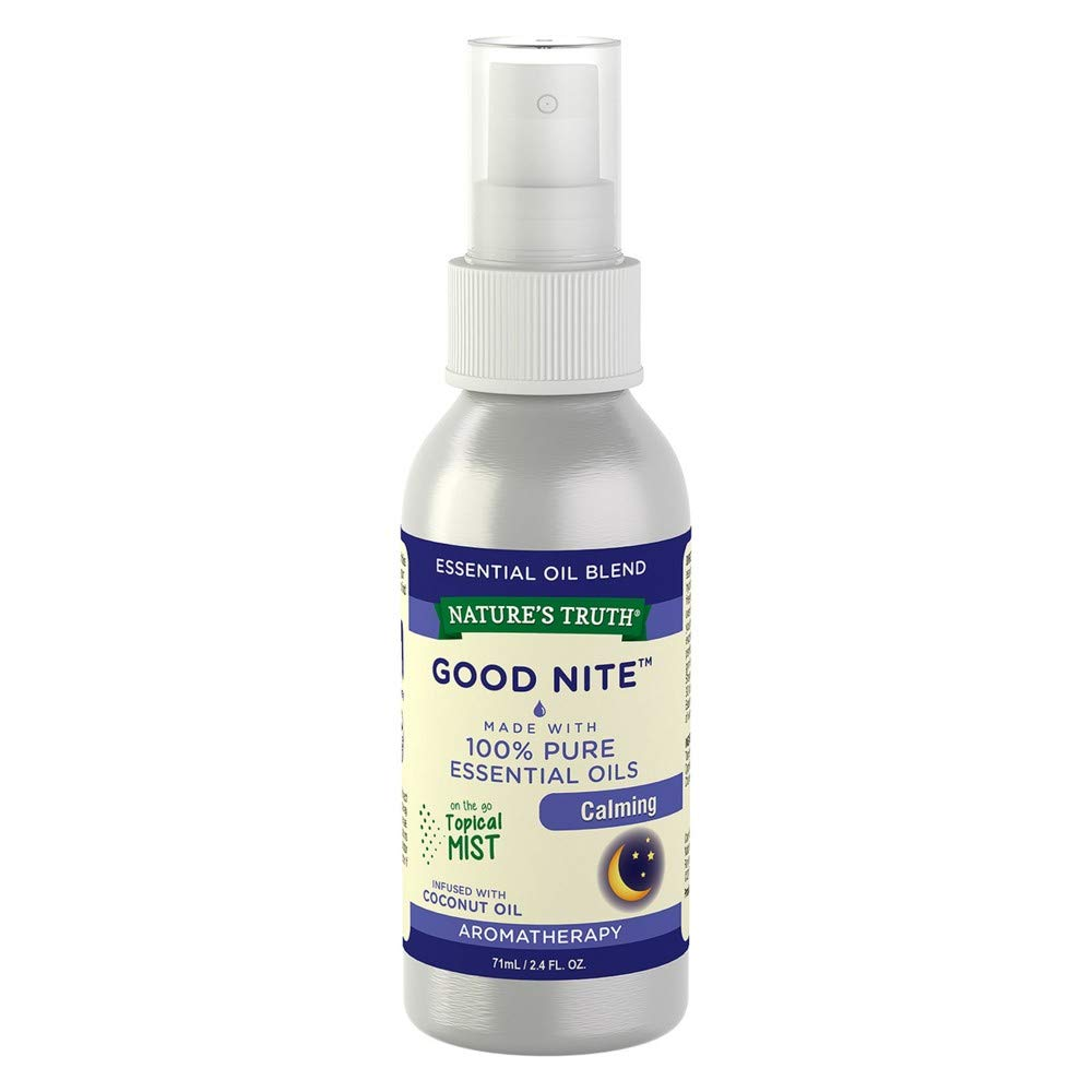 Nature's Truth Good Nite Calming On the Go Hydrating Mist - 2.4 oz, Pack of 3 by Nature's Truth