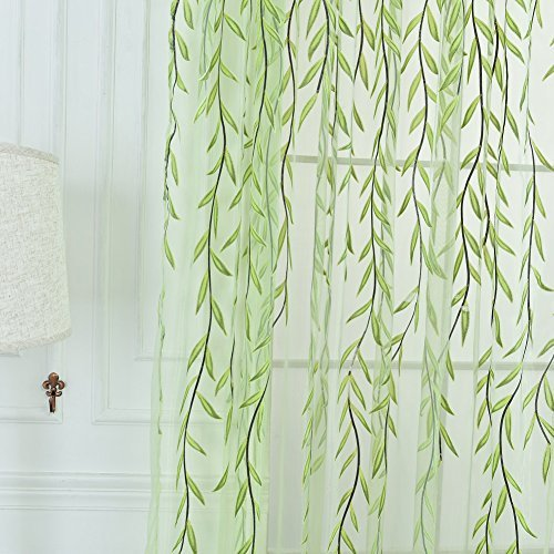 Edal Willow Window Curtain Valances