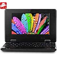 NEW 2016 7 inch 789 PC MID Android 5.0 Notebook WM8880 Dual Core 1.5GHz WVGA Screen 8GB ROM Camera WiFi Ethernet HDMI - Black