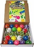 Buffalo Bills SplatterPops (18 assorted jumbo jawbreaker lollipops per 3-lb box)