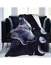 Poltbaie Husky Blanket Ultra Soft Fleece Blanket for Bed Sofa Living Room for Adults and Kids